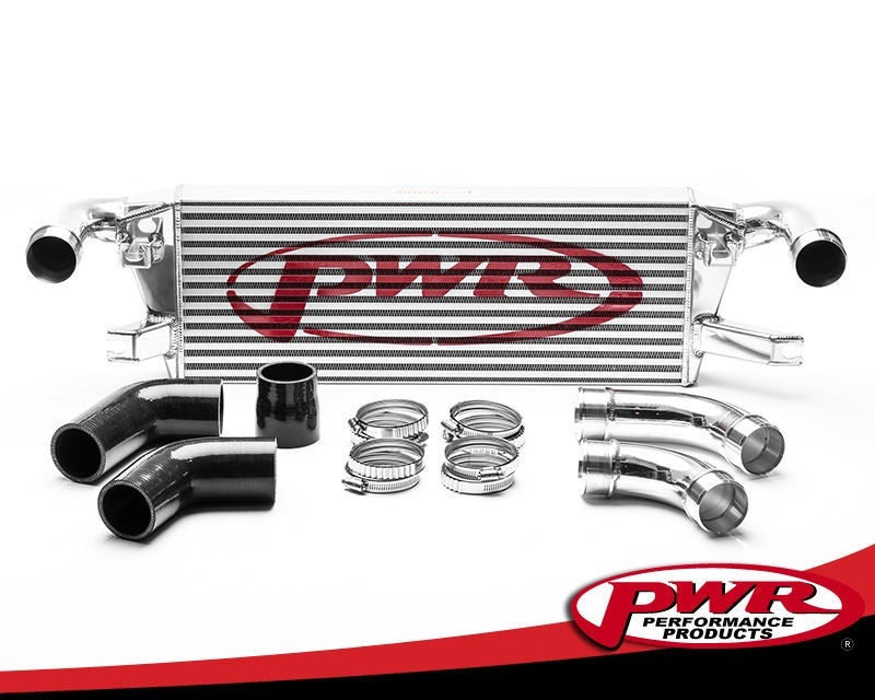 PWR Mitsubishi L200 2015- Uprated Front Mount Intercooler (FMIC) Full Kit inc. Pipework