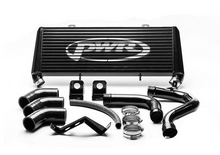 Load image into Gallery viewer, PWR Nissan Navara D23 NP300 2015-2020 Uprated Front Mount Intercooler (FMIC) Black Full Kit inc. Pipework