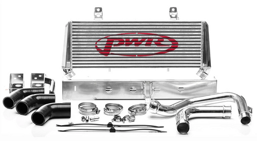 PWR Nissan Navara D23 NP300 2015-2020 Uprated Front Mount Intercooler (FMIC) Full Kit inc. Pipework