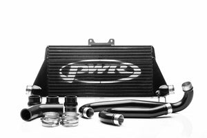 PWR Toyota Hilux 2.8TD 2015- (AN120/AN130) Uprated Front Mount Intercooler (FMIC) Black Full Kit inc. Pipework