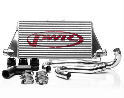 PWR Toyota Hilux 2.8TD 2015- (AN120/AN130) Uprated Front Mount Intercooler (FMIC) Full Kit inc. Pipework
