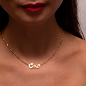 Cunt Necklace