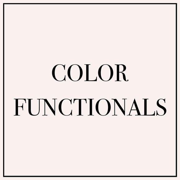 Color Functionals