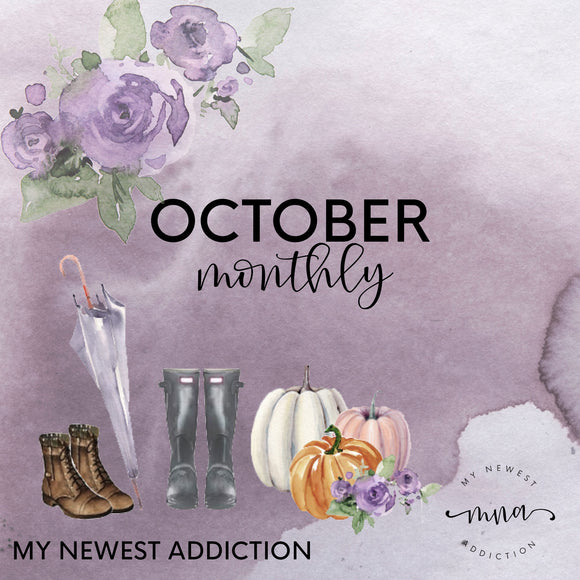 OCTOBER MONTHLY
