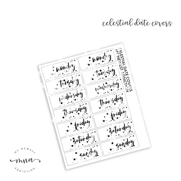 Celestial Date Covers