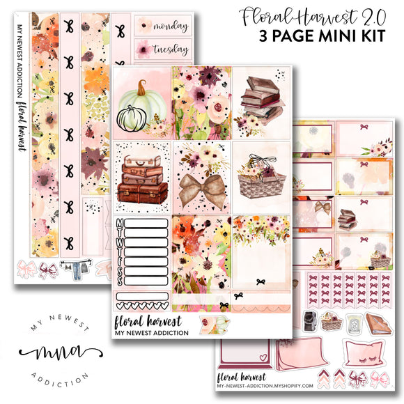 Floral Harvest 2.0  | Foiled Mini Kit