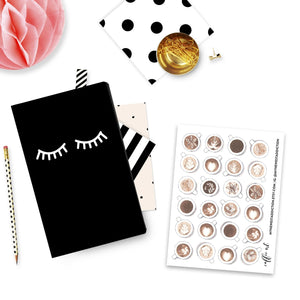 Coffee Art Planner Stickers