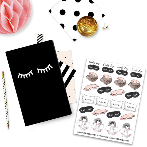 Beauty Sleep Planner Stickers