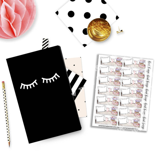 Book Binge Planner Stickers
