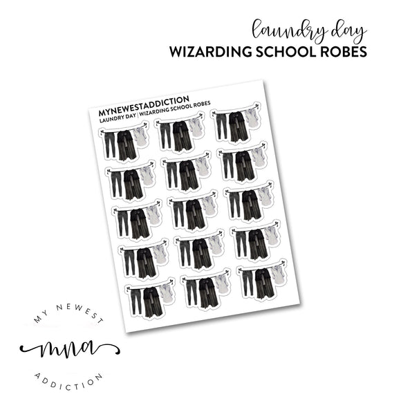 Laundry Day | Wizarding School Robes