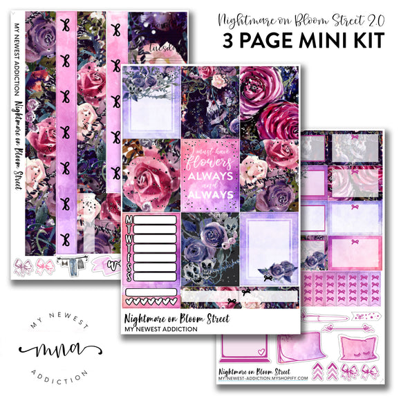Nightmare on Bloom Street 2.0  | Foiled Mini Kit