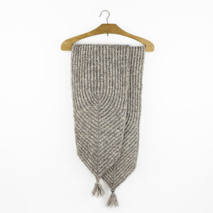 """M2 (Make 2 Stitches) Scarf"" by Helga Isager for Isager"