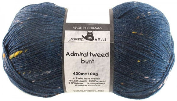 Schoppel Wolle Admiral Tweed Bunt Sock Yarn