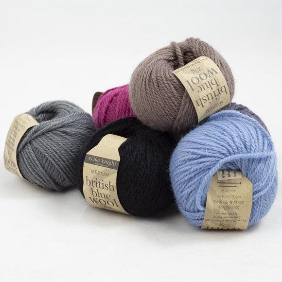 Erika Knight British Blue Wool 25g