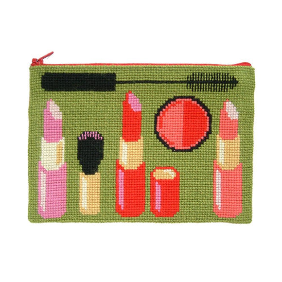 Fru Zippe Woollen Cross Stitch Kit: Make Up Case