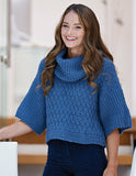 Evania Basket Weave Jumper by Chloe Birch for West Yorkshire Spinners Re:Treat