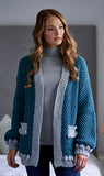 Janoah Bobble Cardigan by Chloe Birch for West Yorkshire Spinners Re:Treat