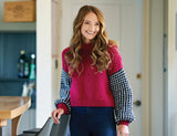 Mira Bee Stitch Sweater by Chloe Birch for West Yorkshire Spinners Re:Treat