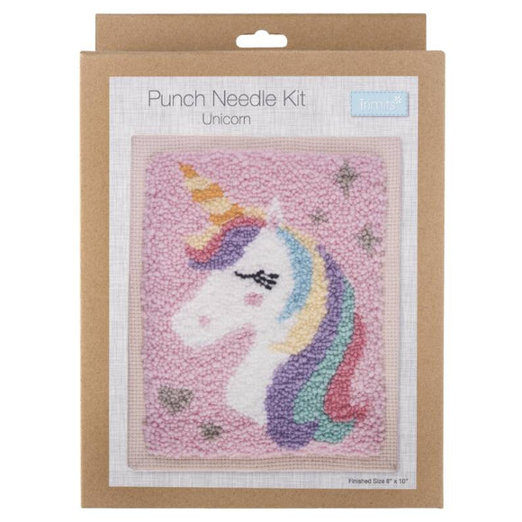 Unicorn Punch Needle Kit