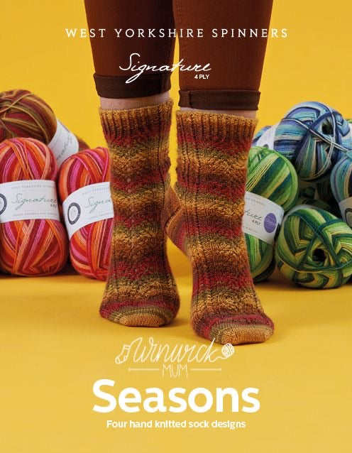 Seasons Winwick Mum Sock Yarn and Book Bundle