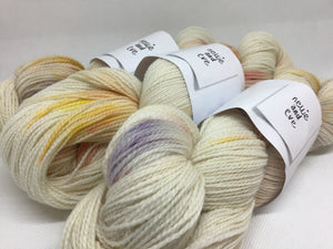 Nellie and Eve Plant Dyed Yarn - Corriedale Sock Twist