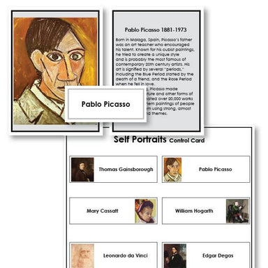 Art-Art History - Famous Artists Self Portraits And Biographies