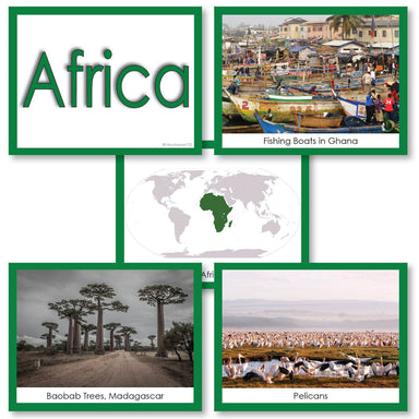 Geography Material-Study Of World Geography - Image Folder Of The Continent Africa