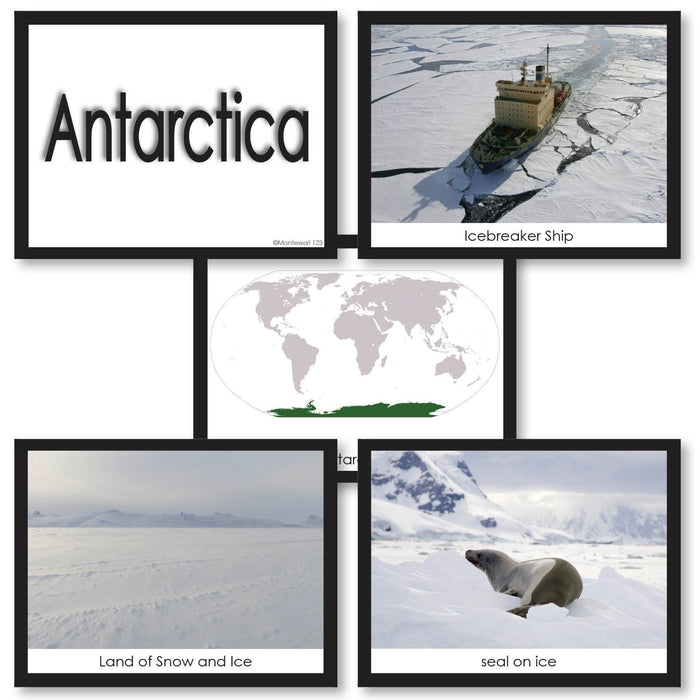 Geography Material-Study Of World Geography - Image Folder Of The Continent Antarctica
