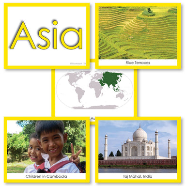 Geography Material-Study Of World Geography - Image Folder Of The Continent Asia