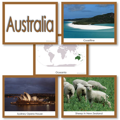 Geography Material-Study Of World Geography - Image Folder Of The Continent Australia/ Oceania