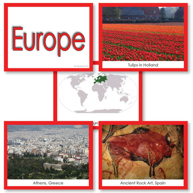 Geography Material-Study Of World Geography - Image Folder Of The Continent Europe