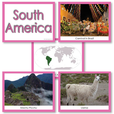 Geography Material-Study Of World Geography - Image Folder Of The Continent South America