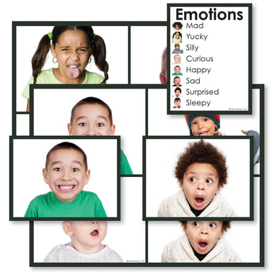 History Material-Culture - Emotions Cards With Chart