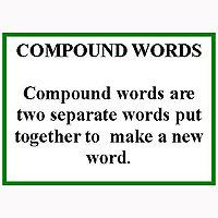 Language Arts-Word Study - Word Study: Compounds - Puzzle Train