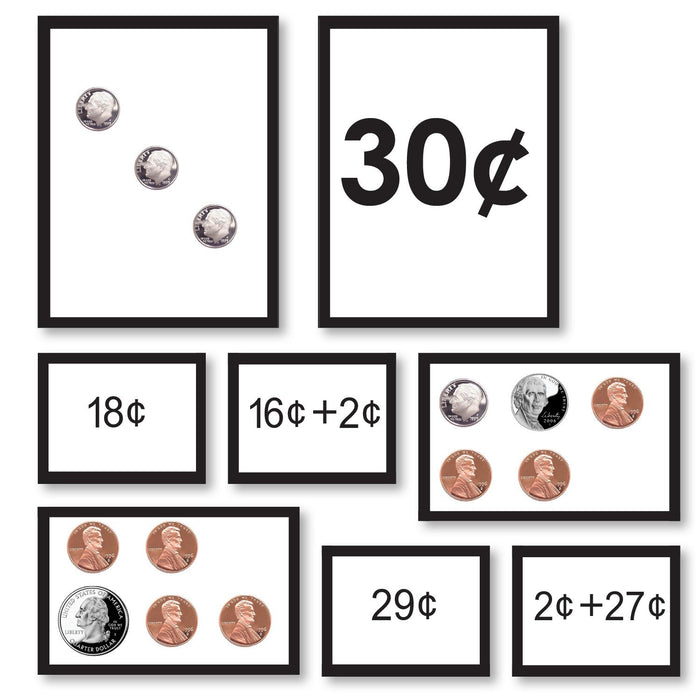 Math Materials-Money - Counting Coins