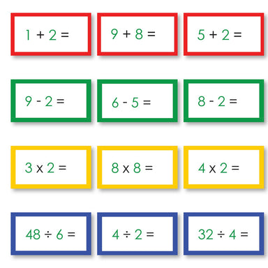 Math Materials-Operations - Complete Set Of Math Problems For All Operations