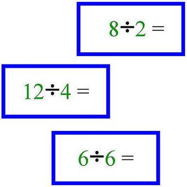 Math Materials-Operations - Math Problems For Division