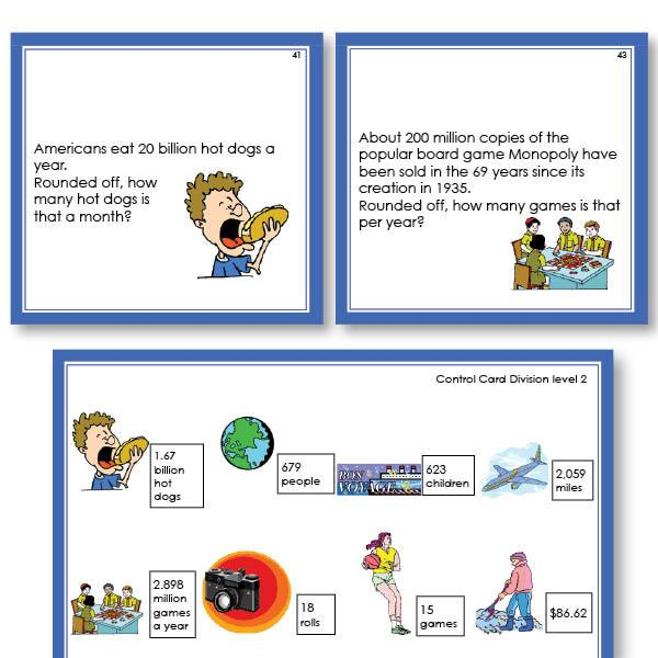 Math Materials-Word Problems - Math Word Problems For Division Level 2