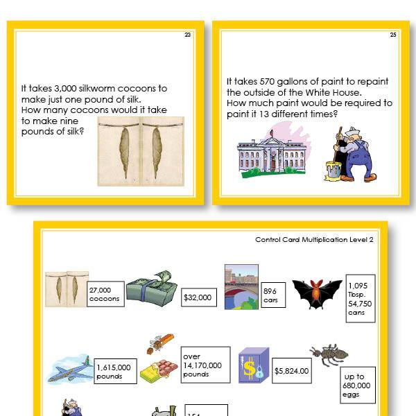 Math Materials-Word Problems - Math Word Problems For Multiplication Level 2