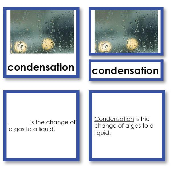 Physical Science-Chemistry - Chemistry Terms And Concepts 3-Part Cards With Definitions