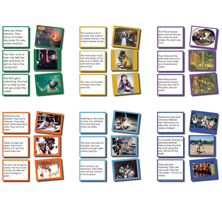 Reading-Reading Story Level - Matching Sentences With Photos Level 1