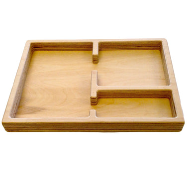 Storage And Display - Large Size 3 Part Tray