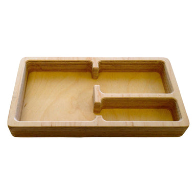 Storage And Display - Small Size 3 Part Tray