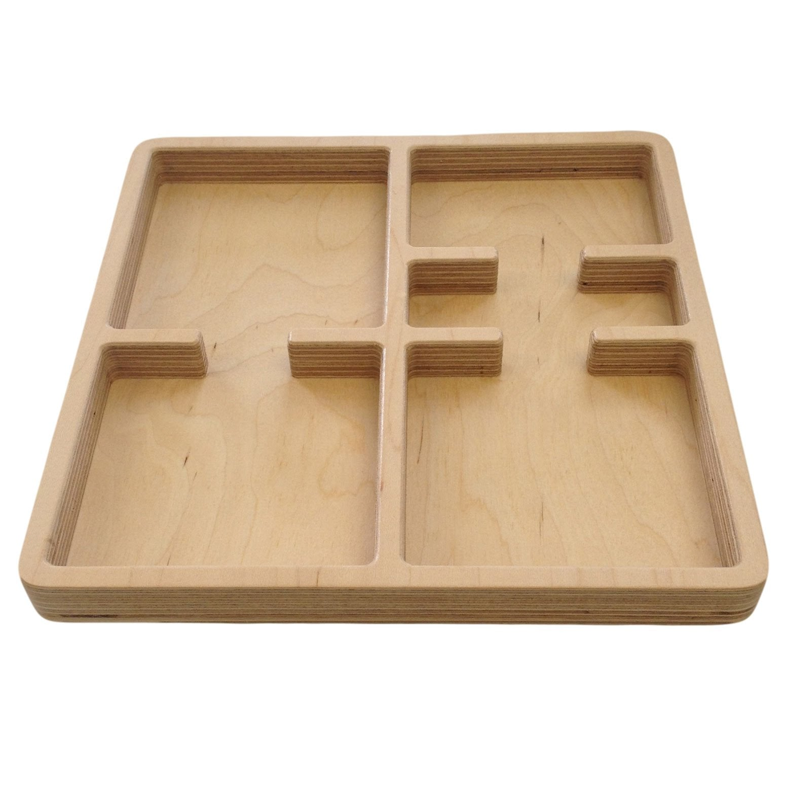 Storage And Display - Small Size 5 Part Tray