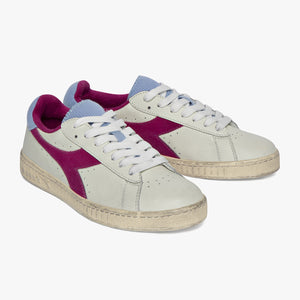 Diadora - Scarpa Game L Low Used WN Powder Blue/Magenta