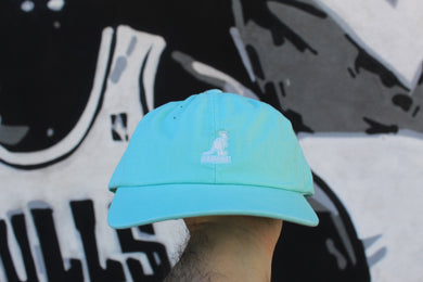 Kangol - Cappello Washed Baseball Blue Tint