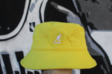 Kangol - Bucket Washed Marigold