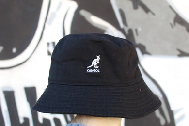 Kangol - Bucket Washed Black
