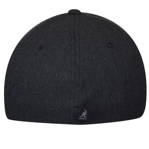 Kangol - Cappello Wool Flexfit Baseball Dark Heather Grey