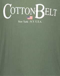 Cotton Belt - T-Shirt Big Logo M Verdone